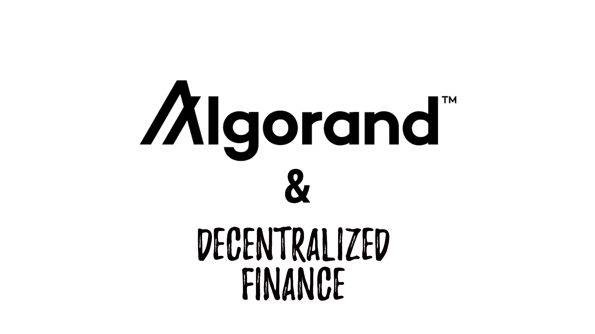 algorand decentralized finance