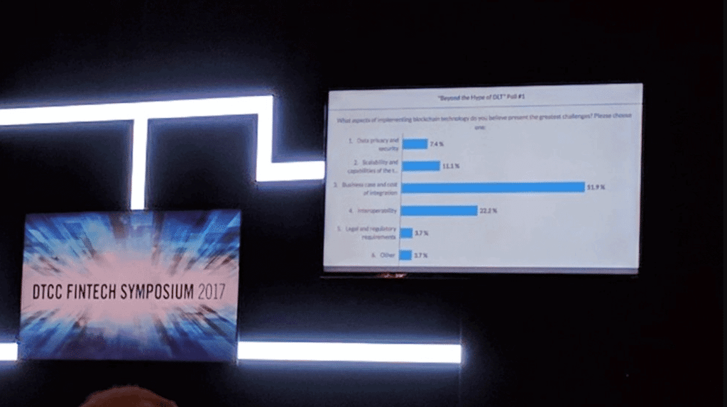 Blockchain Adoption Optimism Suffers Setback at DTCC Fintech Event