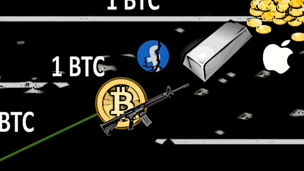 Bitcoin Is Now World's 8th Most Valuable Asset — BTC Now Targets Silver's $1.31T Market Cap